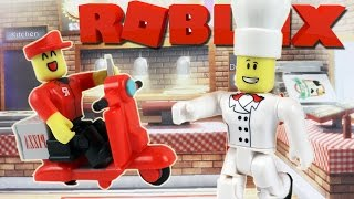 Roblox / Work at a Pizza Place - Toys Unboxing + Exclusive Online Item / Gamer Chad Plays