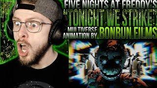 "Vapor Reacts #831 | [SFM] HUGE MULTIVERSE ANIMATION ""Tonight We Strike"" by BonBun Films REACTION!!"