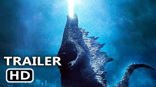 GODZILLA 2: KING OF THE MONSTERS Trailer (2019) Adventure, Millie Bobby Brown