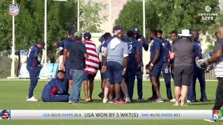 USA vs Singapore - LIVE International Cricket from WCL3 in Oman