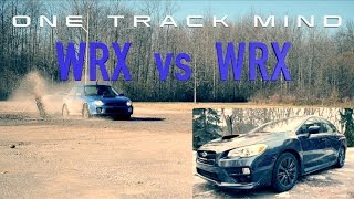 2017 SUBARU WRX vs 'Bugeye' 2003 WRX// Review and Rally Test// ONE TRACK MIND EP. 4