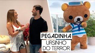 Pegadinha: Trollei o Duda e minha equipe com o Urso do Terror | Sabrina Sato