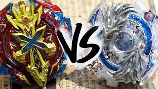 BATTLE: Lost Longinus .N.Sp VS Xeno Xcalibur .M.I - Beyblade Burst!