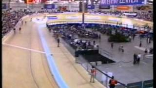 2005 UCI Track Cycling World Championships - Men's Madison (Mark Cavendish)