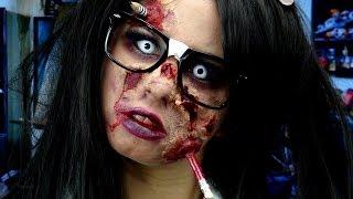 Zombie Nerd Makeup!