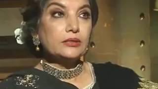 Indian Media Crying - Shabana Azmi Fire Interview To Indian Media