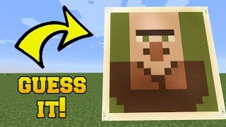 IS THAT A VILLAGER?!? GUESS THE PICTURE!!!
