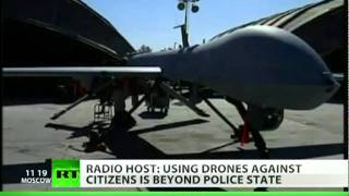 Alex Jones on drone drama and US war on Americans