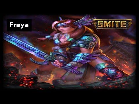 Freya Remodel - SMITE Freya Arena Gameplay