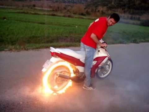 The Best Burnout EVER Ghost Rider