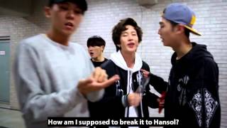 [ENG SUB] ON Air ToppDogg #23 - Pepero Day Game