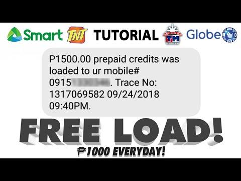 Xxx Mp4 FREE ₱1000 LOAD EVERYDAY TRICK LEGIT AND WORKING Globe Smart TM TNT 3gp Sex