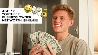THE RICH LIFE OF A TEENAGE YOUTUBER