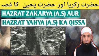 Hazrat Zakriya (A.S) aur Hazrat Yahya (A.S) ka Qissa   Maulana Tariq Jameel Bayan