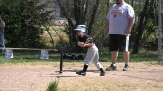 2011-04-09 FNLL Giants - Richard batting