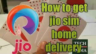 How to get jio sim home delivery | HINDI