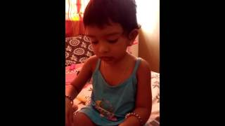 24 Tamil movie song sung by a TWO YEAR OLD.
