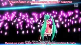 Hatsune Miku - Freely Tomorrow (Project Diva f) sub español