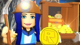 ROBLOX GOLD SIMULATOR! (WE'RE RICH!!)