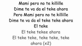 Crazy Design ft. Carlitos Way -- El Teke Teke (con letras)