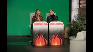 Jennifer Aniston Answers Ellen's