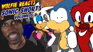 Wolfie Reacts: Sonic Shorts: Volume 5 and 6 - WereWoof Reactions