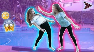 OVER THE POOL CHALLENGE (w/ MY NEW MERCH!!!)