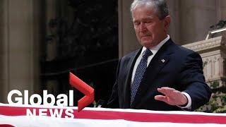 Bush funeral: George W. Bush