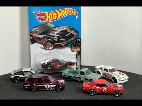 Lamley Saturday Showcase: The Hot Wheels Japanese Nostalgic Car Family