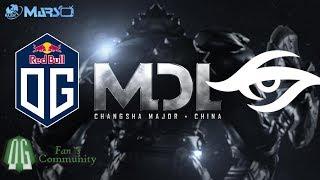 OG vs Secret - Game 2 - MDL Changsha Major - Group Stage