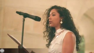 Safia Elhillo performs a series of poems at The Strivers Row