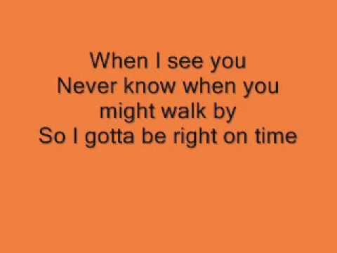 Fantasia When i See You Lyrics