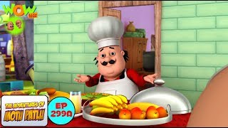 Motu The Chef - Motu Patlu in Hindi - 3D Animation Cartoon - As on Nickelodeon