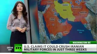 Encircling Iran: US claims would win in 3 weeks