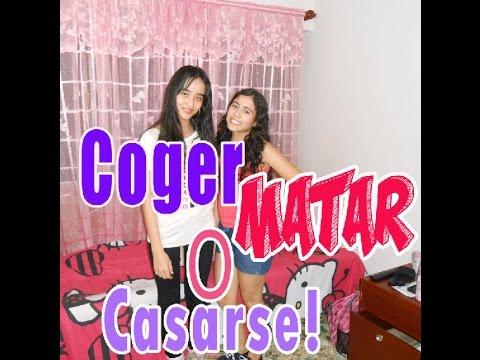 COGER, MATAR O CASARSE // DEGAM