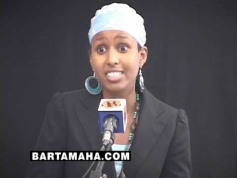 No Matter What I Do I ll Always be Somali YASMIN ADEN SPEECH at SOMALI YOUTH SUMMIT 2008