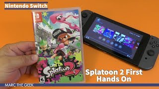 Nintendo Switch: Splatoon 2 First Hands On