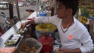 Pani Puri and Sev Puri - Indian Street Food at