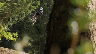 Perhaps the Best Jump Trail in the Alps? Nico Vink's Line in Chatel is OPEN!