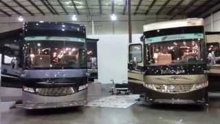 2015 Newmar London Aire 4553 and 4503 walk through