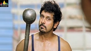 Veedinthe Movie Vikram Kidnaping Musthafa Scene | Vikram, Deeksha Seth | Sri Balaji Video