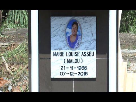 watch Culture / Nécrologie : Inhumation  de Marie Louise Asseu à Affery