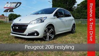 2015 Peugeot 208 Gt Line restyling Test drive & Review - Prova su strada Peugeot 208 1.2 110 hp