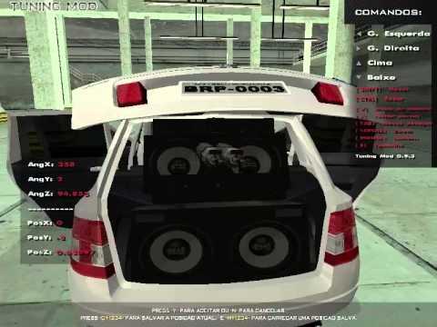 GTA Modificado montando meu som no stilo