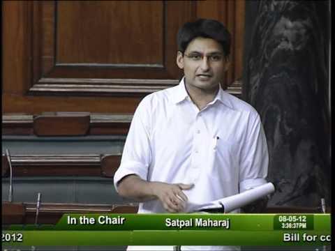 Sh. Deepender Singh Hooda in Lok Sabha on 08-05-2012