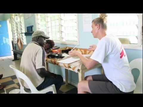 Australian nurse working in Papua New Guinea