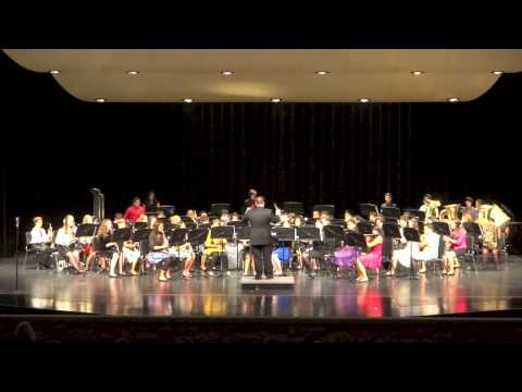 Wallace Middle School Wind Ensemble 12-6-12.mov