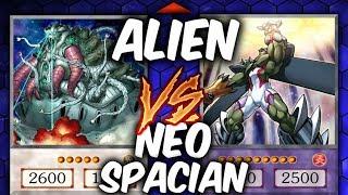 ALIEN INVASION! Yugioh NEO-SPACIAN vs ALIENS (YU-GI-OH! Themed Decks)