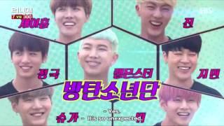 running man ep 300 guest BTS (Bangtan Boys)