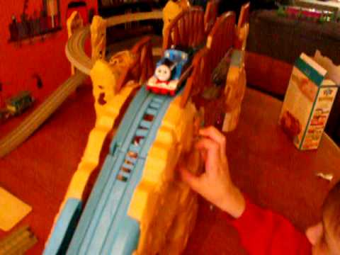 Thomas the Train Action Canyon Accident Video